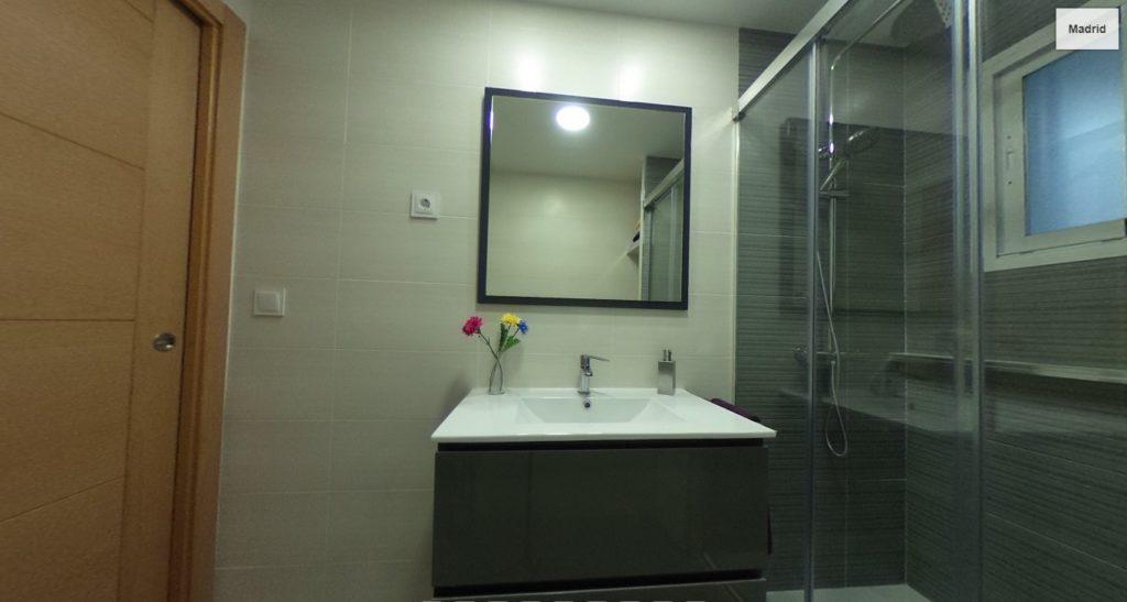 reforma baño en camarma de Esteruelas