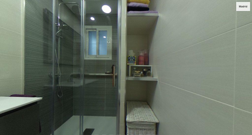 reforma baño en camarma